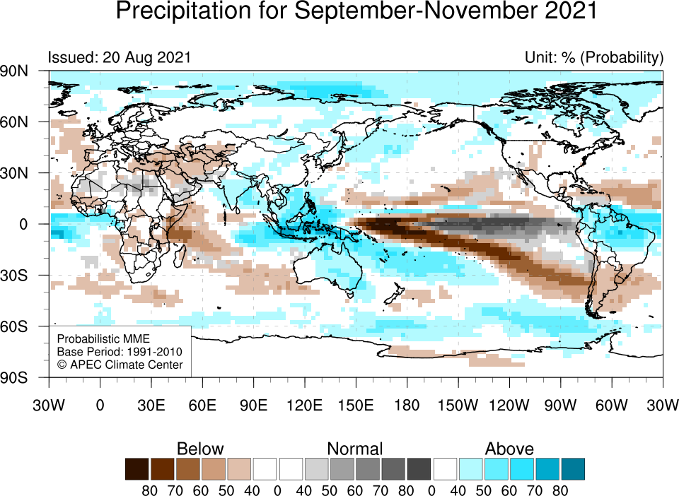 APCC MME Probablilistic Forecast - Precipitation