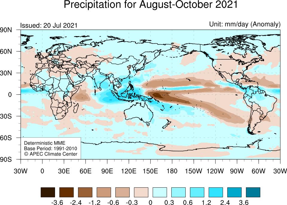 APCC MME Forecast - Precipitation